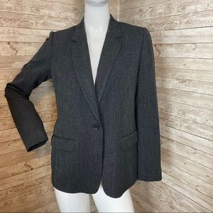 Armani Exchange Oversize Blazer Grey Sz 8